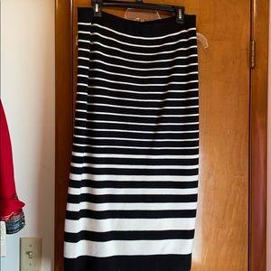 Ann Taylor midi/maxi length sweater skirt